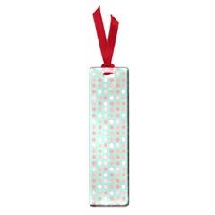 Peach Pink Eggs On Green Small Book Marks
