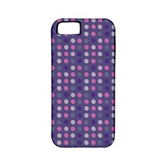 Violet Grey Purple Eggs On Grey Blue Apple Iphone 5 Classic Hardshell Case (pc+silicone)