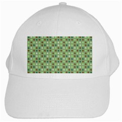 Green Brown  Eggs On Green White Cap