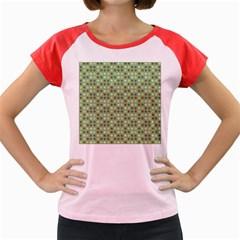 Green Brown  Eggs On Green Women s Cap Sleeve T Shirt