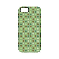 Green Brown  Eggs On Green Apple Iphone 5 Classic Hardshell Case (pc+silicone)
