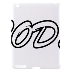 Code White Apple Ipad 3/4 Hardshell Case (compatible With Smart Cover)