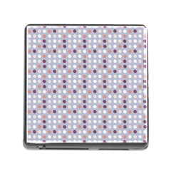 Pink Purple White Eggs On Lilac Memory Card Reader (square)