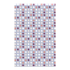 Pink Purple White Eggs On Lilac Shower Curtain 48  X 72  (small)