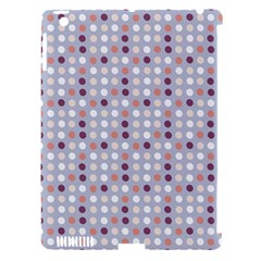 Pink Purple White Eggs On Lilac Apple Ipad 3/4 Hardshell Case (compatible With Smart Cover)