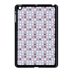 Pink Purple White Eggs On Lilac Apple Ipad Mini Case (black)