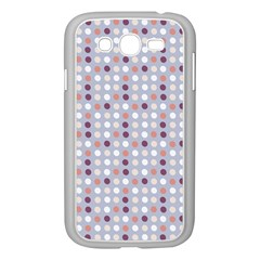 Pink Purple White Eggs On Lilac Samsung Galaxy Grand Duos I9082 Case (white)
