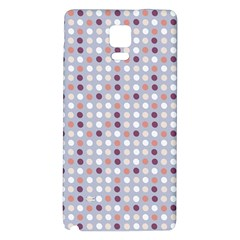 Pink Purple White Eggs On Lilac Galaxy Note 4 Back Case