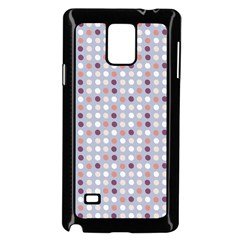 Pink Purple White Eggs On Lilac Samsung Galaxy Note 4 Case (black)