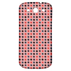 Grey Red Eggs On Pink Samsung Galaxy S3 S Iii Classic Hardshell Back Case