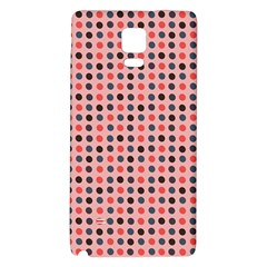 Grey Red Eggs On Pink Galaxy Note 4 Back Case