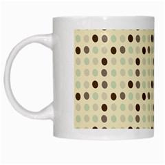 Brown Green Grey Eggs White Mugs