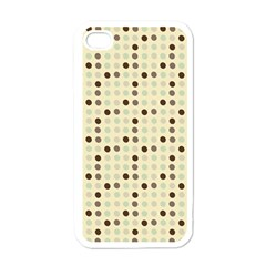 Brown Green Grey Eggs Apple Iphone 4 Case (white)