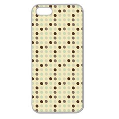 Brown Green Grey Eggs Apple Seamless Iphone 5 Case (clear)