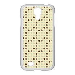 Brown Green Grey Eggs Samsung Galaxy S4 I9500/ I9505 Case (white)