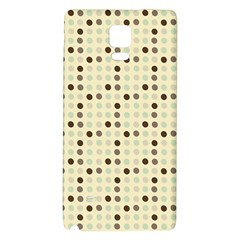 Brown Green Grey Eggs Galaxy Note 4 Back Case