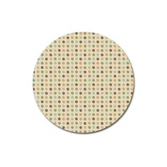 Green Brown Eggs Magnet 3  (round)