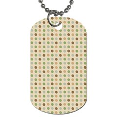 Green Brown Eggs Dog Tag (two Sides)