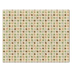 Green Brown Eggs Rectangular Jigsaw Puzzl