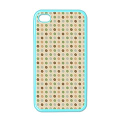 Green Brown Eggs Apple Iphone 4 Case (color)