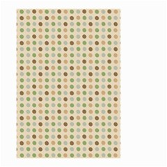 Green Brown Eggs Small Garden Flag (two Sides)
