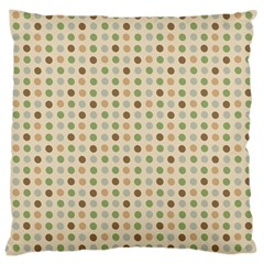 Green Brown Eggs Large Cushion Case (two Sides)