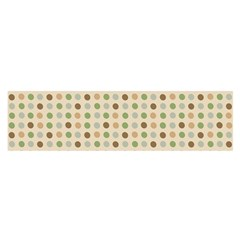 Green Brown Eggs Satin Scarf (oblong)