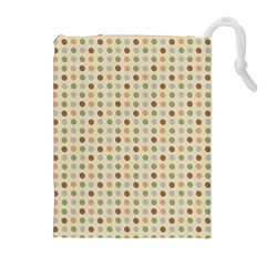 Green Brown Eggs Drawstring Pouches (extra Large)