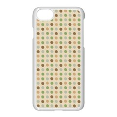 Green Brown Eggs Apple Iphone 7 Seamless Case (white)