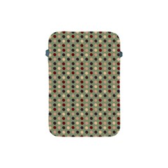 Grey Beige Burgundy Eggs On Green Apple Ipad Mini Protective Soft Cases