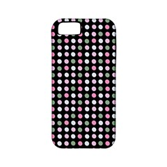 Pink Green Eggs On Black Apple Iphone 5 Classic Hardshell Case (pc+silicone)