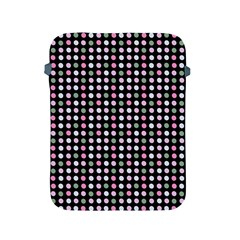 Pink Green Eggs On Black Apple Ipad 2/3/4 Protective Soft Cases