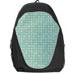Pink Peach Green Eggs On Seafoam Backpack Bag
