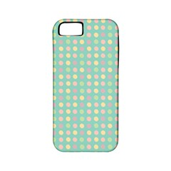 Pink Peach Green Eggs On Seafoam Apple Iphone 5 Classic Hardshell Case (pc+silicone)