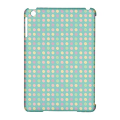 Pink Peach Green Eggs On Seafoam Apple Ipad Mini Hardshell Case (compatible With Smart Cover)