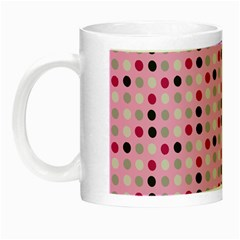 Grey Magenta Eggs On Pink Night Luminous Mugs
