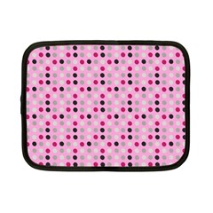 Grey Magenta Eggs On Pink Netbook Case (small)