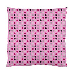 Grey Magenta Eggs On Pink Standard Cushion Case (one Side)