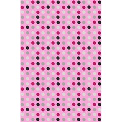 Grey Magenta Eggs On Pink 5 5  X 8 5  Notebooks