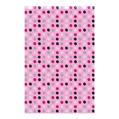 Grey Magenta Eggs On Pink Shower Curtain 48  X 72  (small)