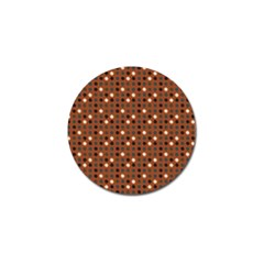 Grey Eggs On Russet Brown Golf Ball Marker (10 Pack)