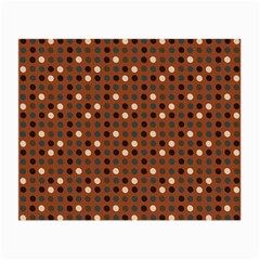 Grey Eggs On Russet Brown Small Glasses Cloth