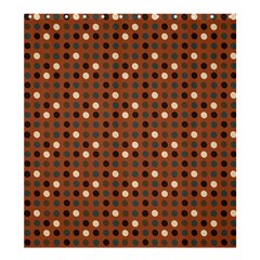 Grey Eggs On Russet Brown Shower Curtain 66  X 72  (large)
