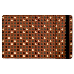 Grey Eggs On Russet Brown Apple Ipad 2 Flip Case