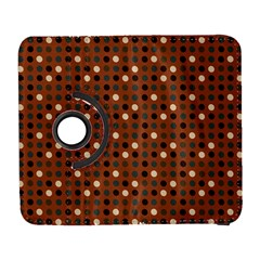Grey Eggs On Russet Brown Galaxy S3 (flip/folio)