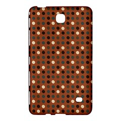 Grey Eggs On Russet Brown Samsung Galaxy Tab 4 (8 ) Hardshell Case