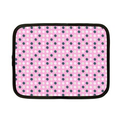 Teal White Eggs On Pink Netbook Case (small)