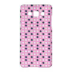 Teal White Eggs On Pink Samsung Galaxy A5 Hardshell Case