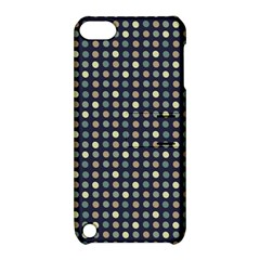 Beige Blue Cream Eggs On Grey Blue Apple Ipod Touch 5 Hardshell Case With Stand