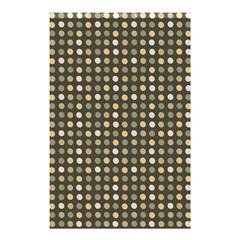 Grey Beige Eggs On Dark Grey Shower Curtain 48  X 72  (small)